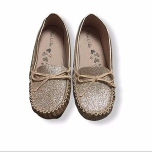 Olive & Edie sparkle loafers
